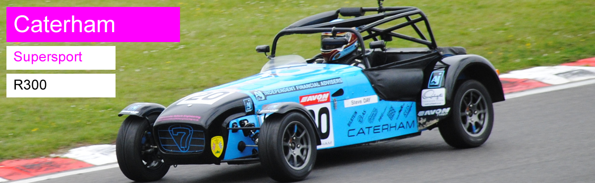 Caterham Supersport and R300 Championship